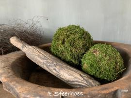 oude doorleefde Chinese houten kledingklopper