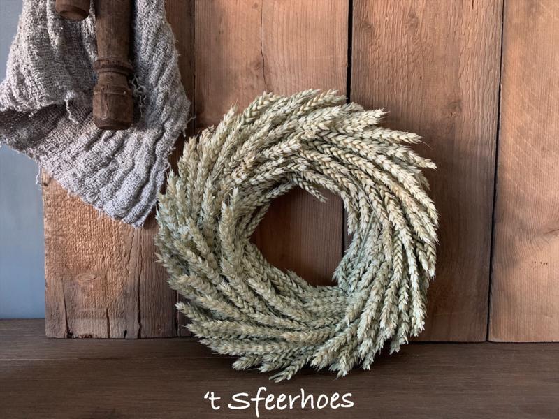 krans tarwe, doorsnede 28 cm