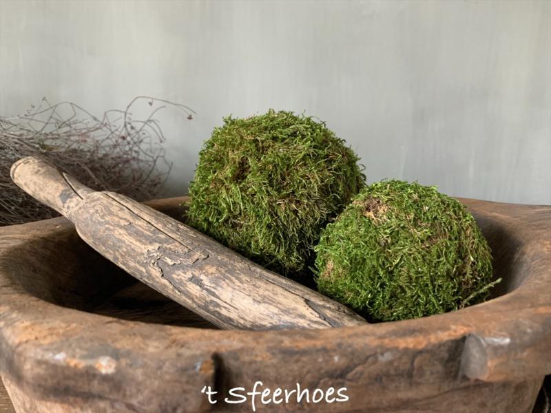 mosbol groot, doorsnede 14 cm