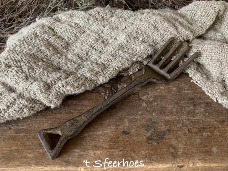 gietijzeren vork