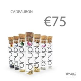 Cadeaubon 75 euro