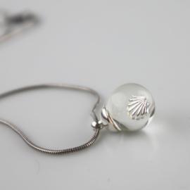 Drupt Hanger Shell Silver