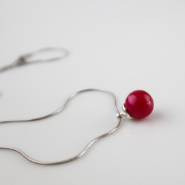 Drupt Hanger Rose Red