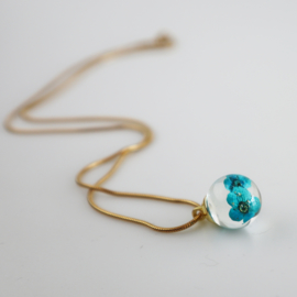 Drupt Hanger Gypso Turquoise/Blauw