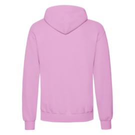 Drupt hoodie Pink fade logo black or white