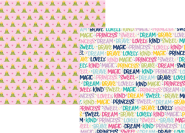 "Sparkle & Shine Double Sided 12x12"" - Unit of 5"