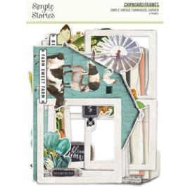 SV Farmhouse Garden - Chipboard Frames - Unit of 3