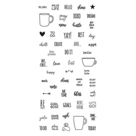 Mug Life Stamps - Unit of 3