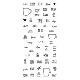 Mug Life Stamps - Unit of 3