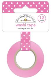 Bubblegum Swiss Dot Washi Tape Unit of 3