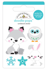 Foxy & Friends Doodlepop - Unit of 3