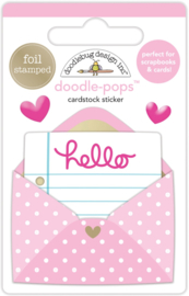 Love Letter Doodlepop     - Unit of 3