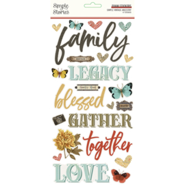 SV Ancestry - Foam Stickers - Unit of 3