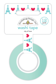 City of Love Washi Tape      - Unit of 3
