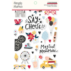 Say Cheese Main Street - Sticker Book - Unit of 3