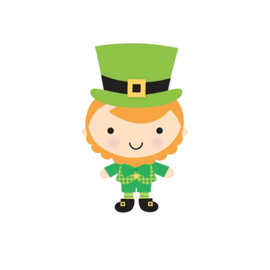 Leprechaun Sweet Rolls Mini  Icon Stickers   - Unit of 3