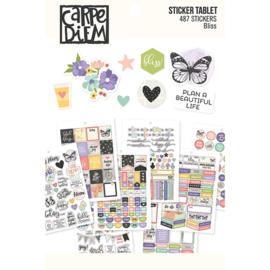 Bliss Sticker Tablet - Unit of 3