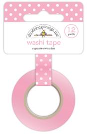 Cupcake Swiss Dot Washi Tape Unit of 3