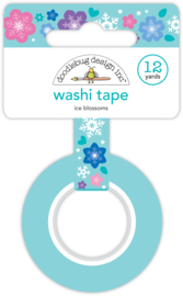 Ice Blossoms Washi Tape - Unit of 3