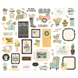 Spring FarmhouseBits & Pieces - Unit of 3