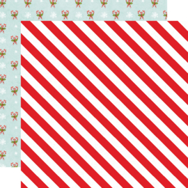"SV North Pole - Twinkle & Shine Double Sided 12x12"" - Unit of 5"