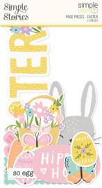 Simple Pages Page Pieces - Easter - unit of 6