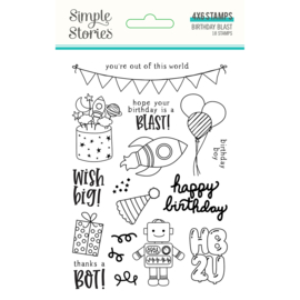 Birthday Blast 4x6 Stamps - Unit of 2