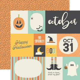 "Best Year Ever October Double Sided 12x12"" - Unit of 5"