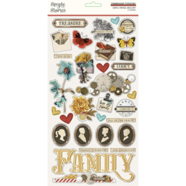 SV Ancestry - 6x12 Chipboard - Unit of 3