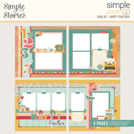 Simple Pages Page Kit - Happy Together - Unit of 3