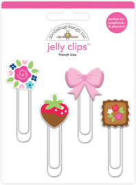 French Kiss Jelly Clips    - Unit of 3