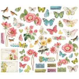 Simple Vintage Botanicals Bits & Pieces - Unit of 3