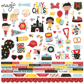 Say Cheese 4 Combo Stickers Sheet - Unit of 3