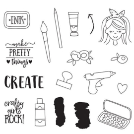 Create It Stamps - Unit of 3