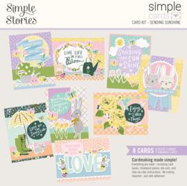 Simple Cards Card Kit - Sending Sunshine - Unit of 3