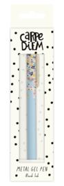 Metal Gel Pen Ditsy Floral - Unit of 1