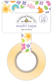 Signs of Spring Washi Tape - Unit of 3