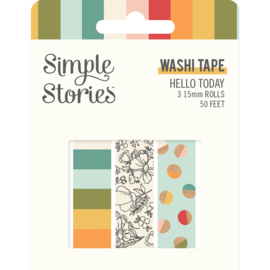 Hello Today - Washi Tape - Unit of 3
