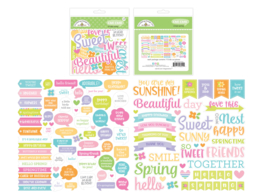 Simply Spring Chit Chat - Unit of 3