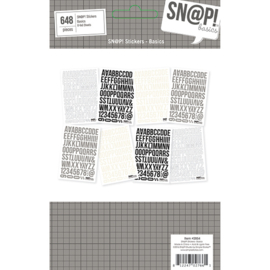 Sn@p Basics 4x6 Basics Stickers - Unit of 3