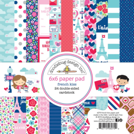 French Kiss 6x6 Paperpad - Unit of 3
