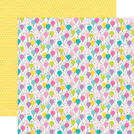 """Magical Birthday  It's Your Day Double Sided 12x12"""" - Unit of 5"""