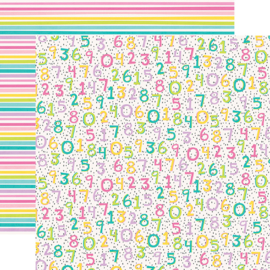 """Magical Birthday  One Year Older Double Sided 12x12"""" - Unit of 5"""