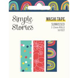 Sunkissed - Washi Tape - Unit of 3