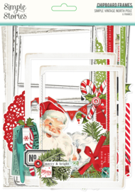 SV North Pole Chipboard Frames - Unit of 3