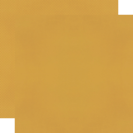 """Winter Farmhouse Mustard/Dots Double Sided 12x12"""" - Unit of 5"""