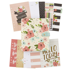 Cream Blossom A5 Planner Boxed Set- Unit of 1