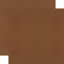 "Brown Textured Cardstock Double Sided 12x12"" - Unit of 5"