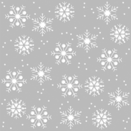 Winter Farmhouse 6x6 Stencil - Unit of 3