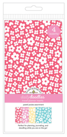 Pastel Posies Daily Doodles Travel Planner Inserts - Unit of 1